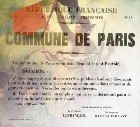 Paris Commune poster
